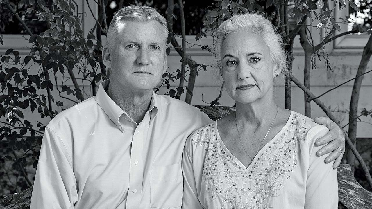 Austin Tice's parents, Marc and Debra
