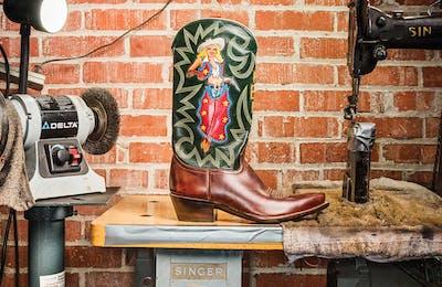 Rocketbuster Handmade Custom Boots, in El Paso