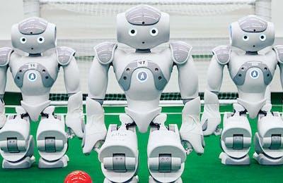 UT soccer robots