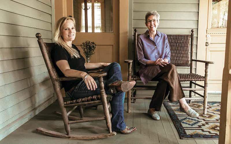 Mary Helen Specht and Nan Cuba, Texas writers