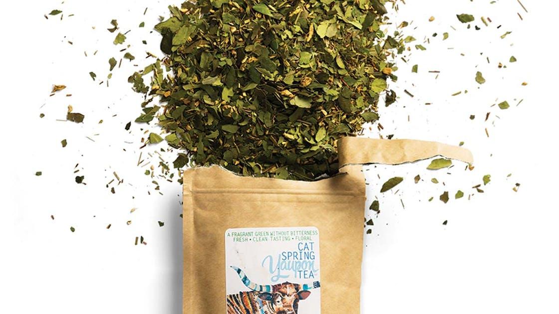 Cat Spring yaupon tea