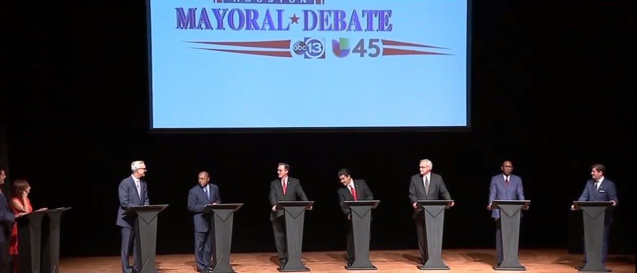Houston mayor's race