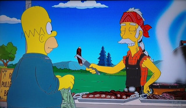 The Simpsons BBQ 01