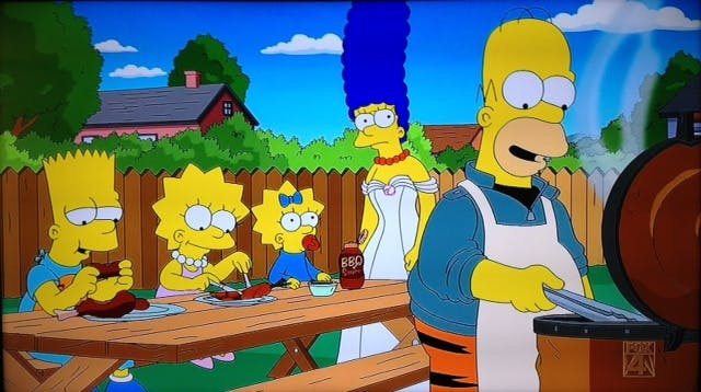 The Simpsons BBQ 09