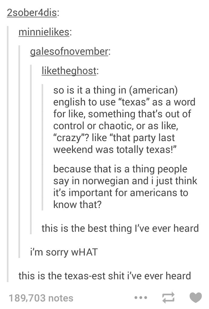 texas norway
