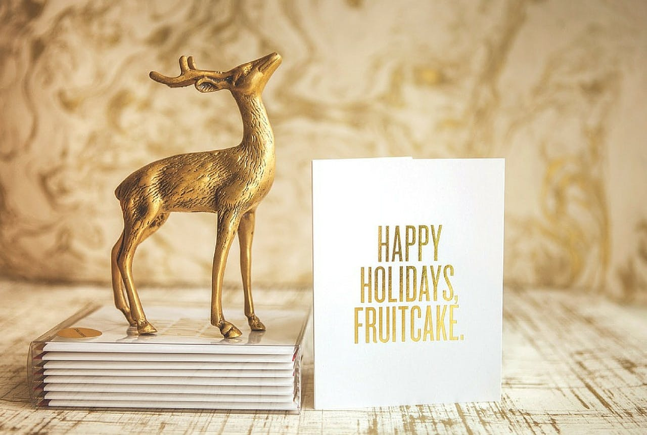 Read Between the Lines holiday cards gift guide