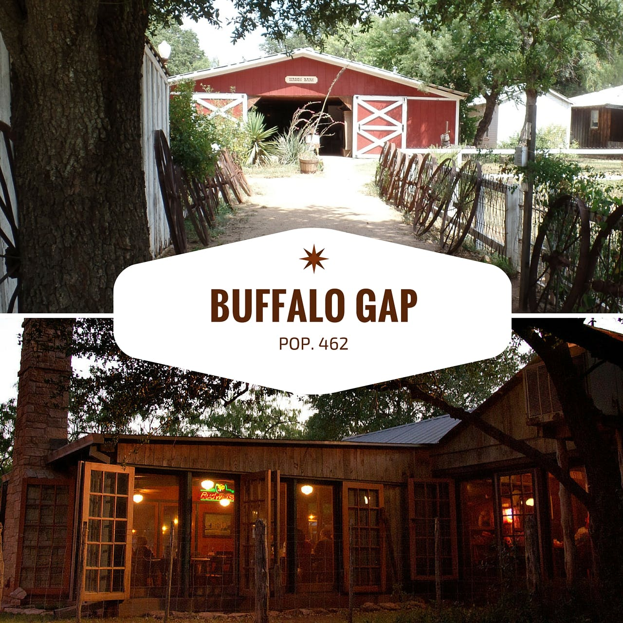 Buffalo Gap day trip