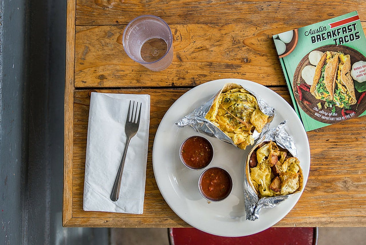 No. 4 St. James Austin Breakfast Tacos book gift guide