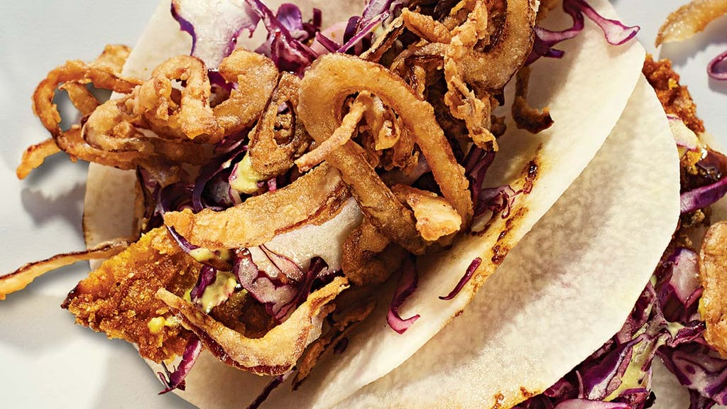 Tacos-Paquetes-de-jicama-camaron-Rosario's-San-Antonio
