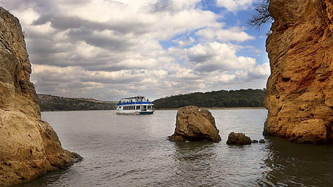 Vanishing Texas River Cruise on Lake Buchanan