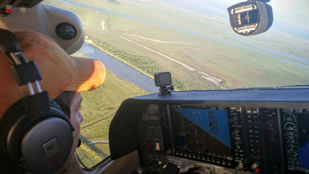 Jay B Sauceda aerial shot