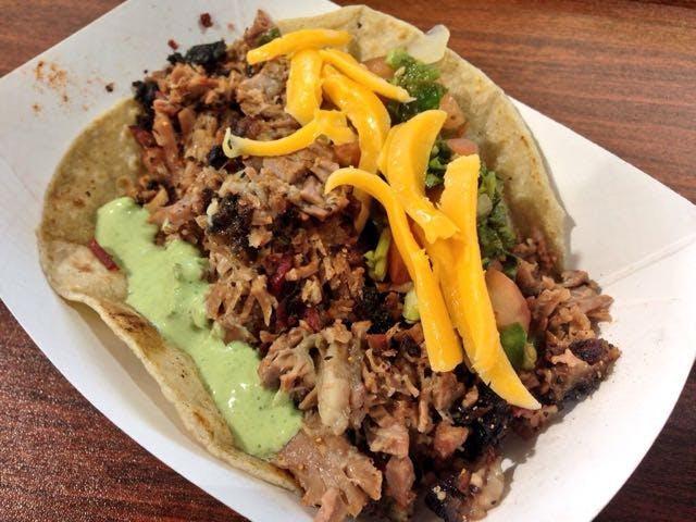 BBQ Brazos Brisket Taco