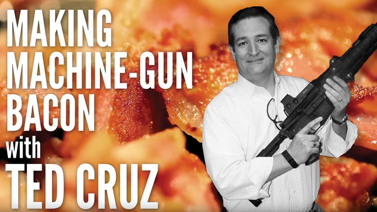 Bum-Steers-2015-Ted-Cruz-Semi-Automatic-Rifle-Bacon-DIY