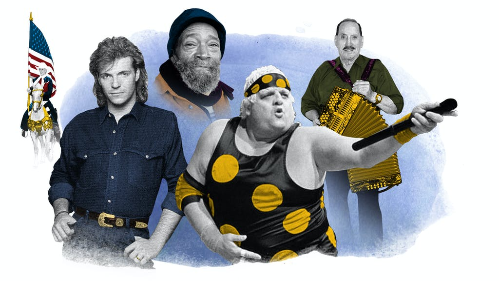 From left to right: Sheri Shelburne Petmecky, Daron Norwood, Charles Joyner, Dusty Rhodes, and Gilberto Ozuno Garcia