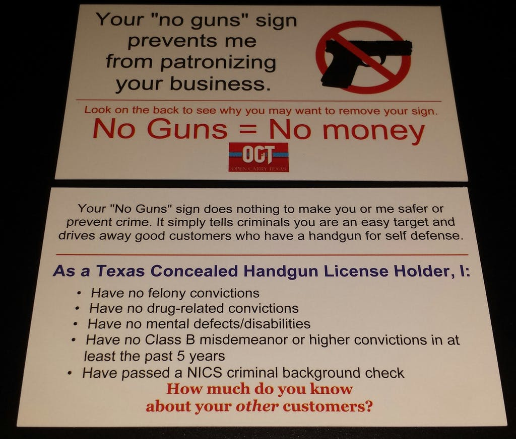 open carry pro cards