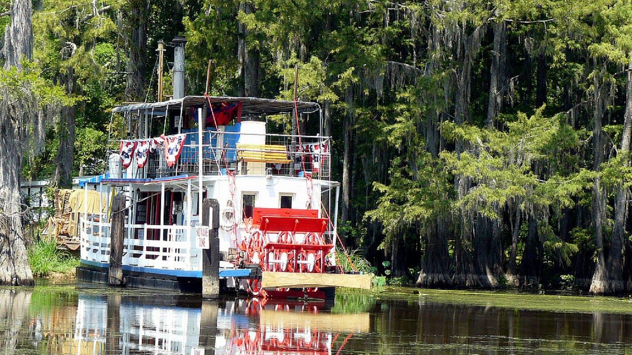 Caddo Lake steamboat spring break