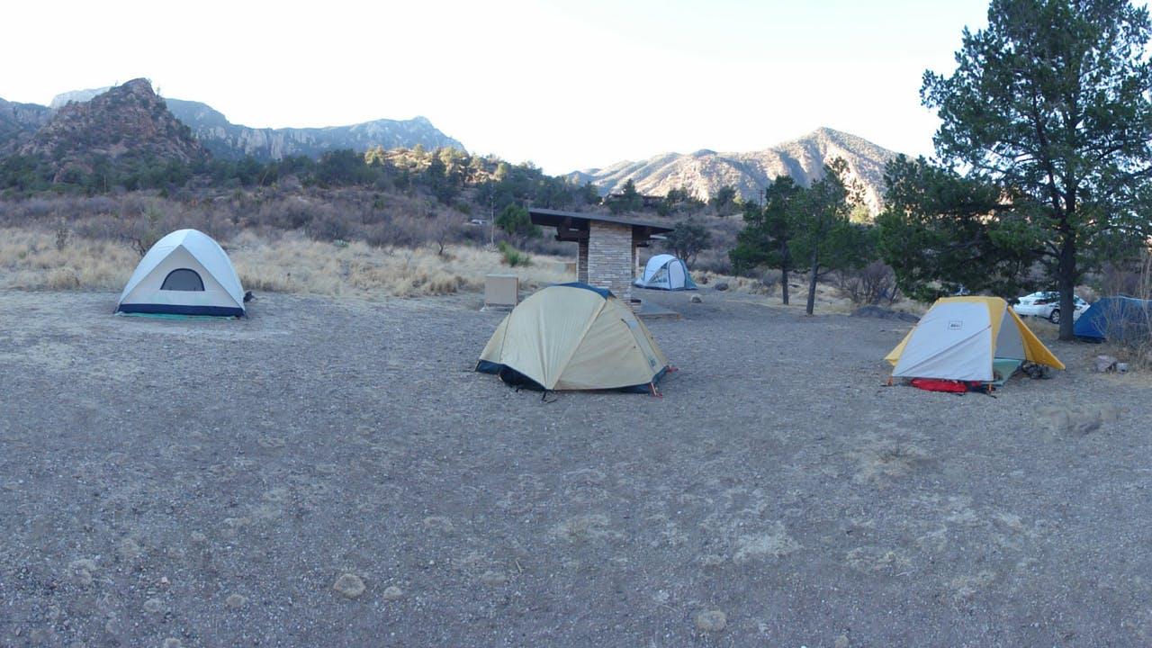 Big Bend National Park camping spring break