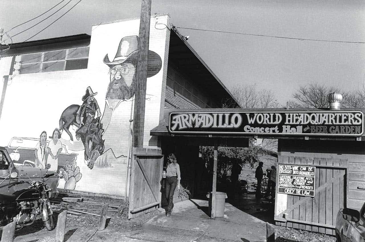 Armadillo World Headquarters, which closed in 1980.
