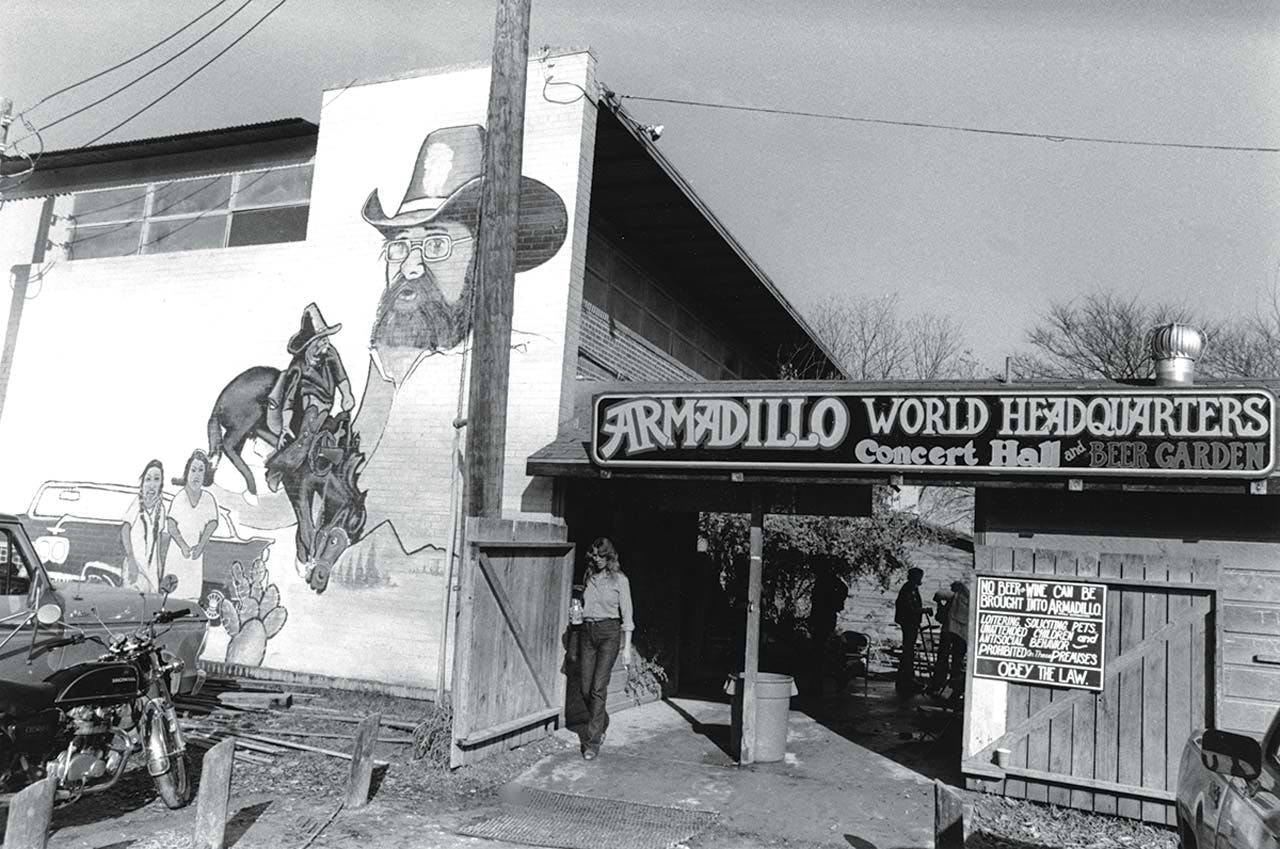 Armadillo World Headquarters, which closed in 1980.