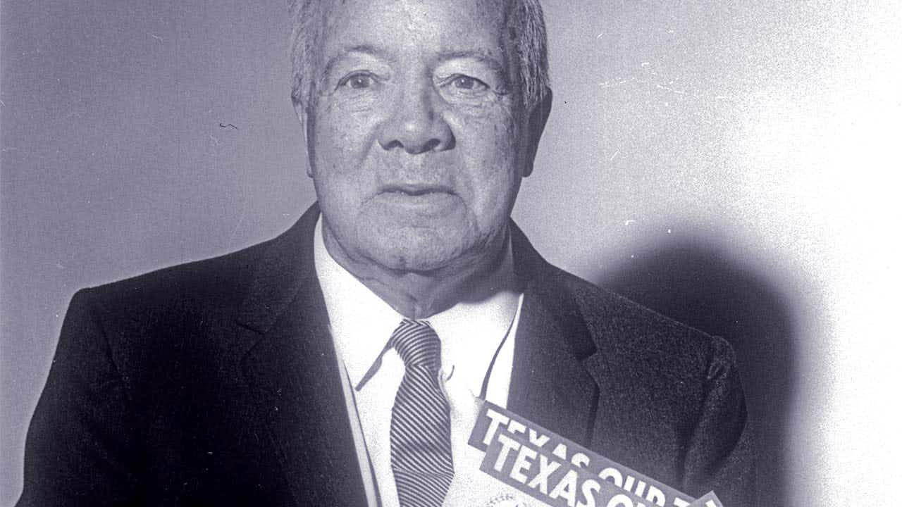 """Texas, Our Texas"" composer William J. Marsh."