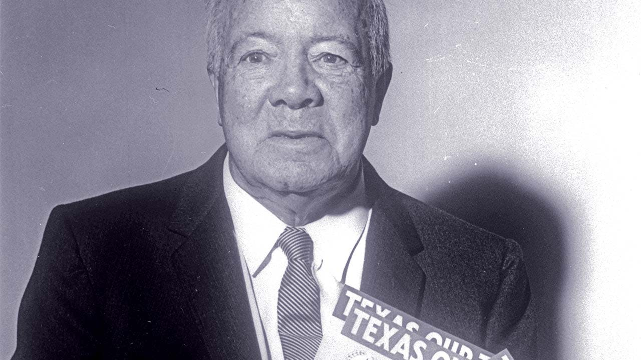 """Texas, Our Texas"" composer William J. Marsh."