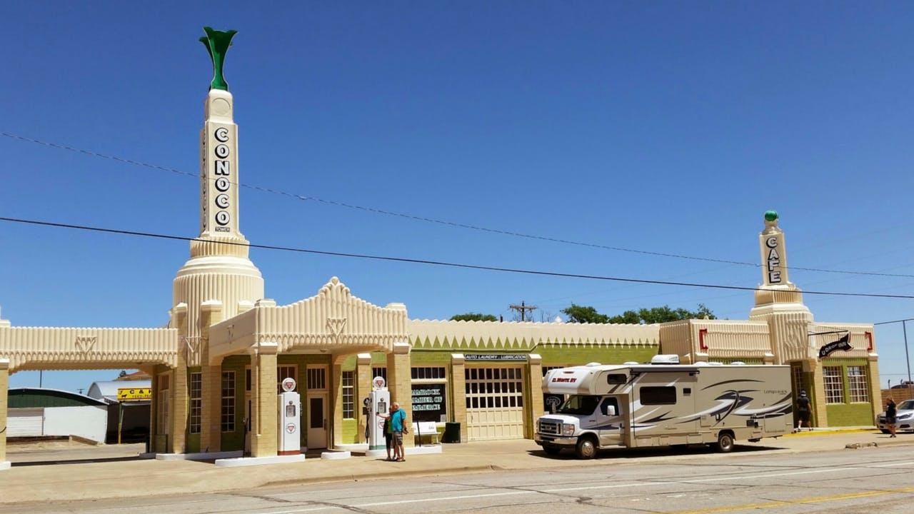 Shamrock U-Drop Inn Route 66