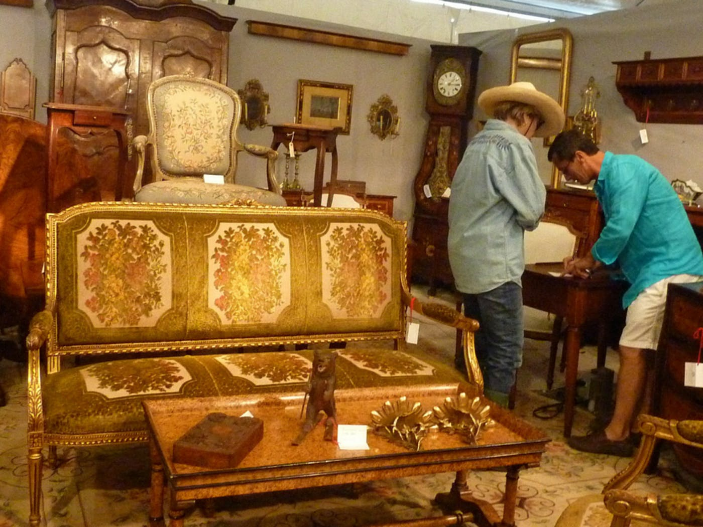 How to Navigate the Round Top Antiques Shows – Texas Monthly Map Of The Round Top Venues Fall on