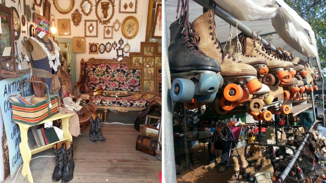 Round Top antiques fair