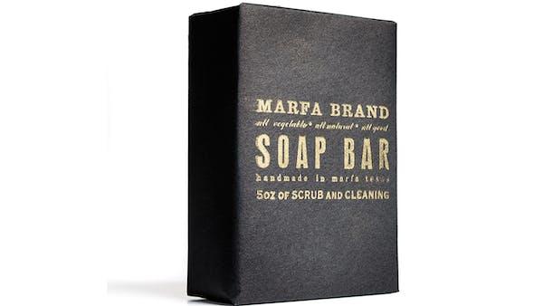 Marfa Brands soap