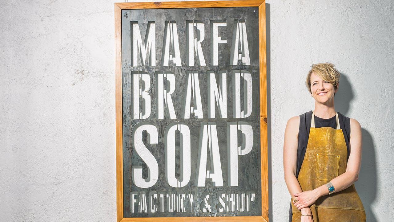 Ginger Grace, Marfa Brands soap