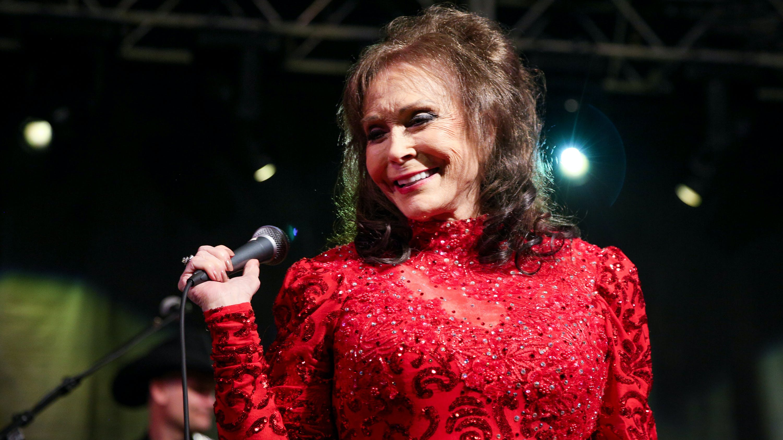 Loretta Lynn performs at the BBC Music Showcase at Stubb's during South By Southwest on Thursday, March 17, 2016, in Austin, Texas.