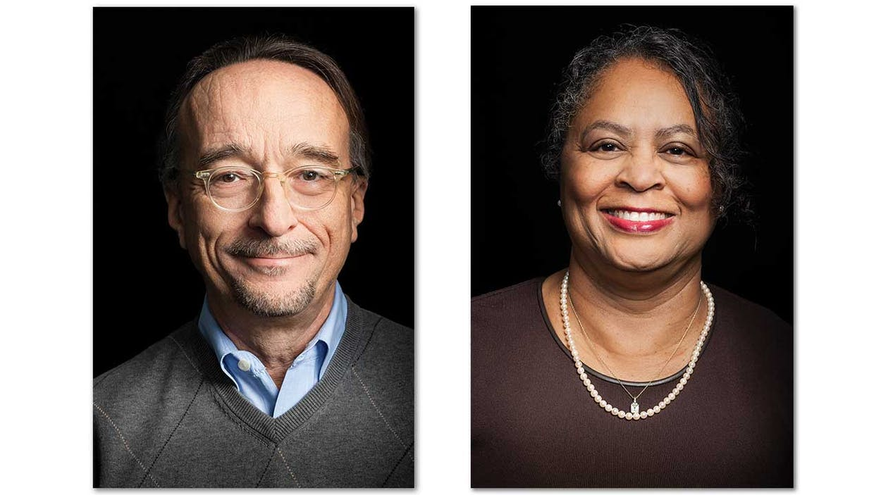 David Moorman and Valerie Wright, Texas Monthly fact-checkers