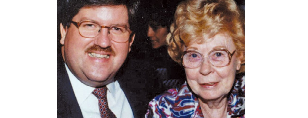 Bernie Tiede Marjorie Nugent