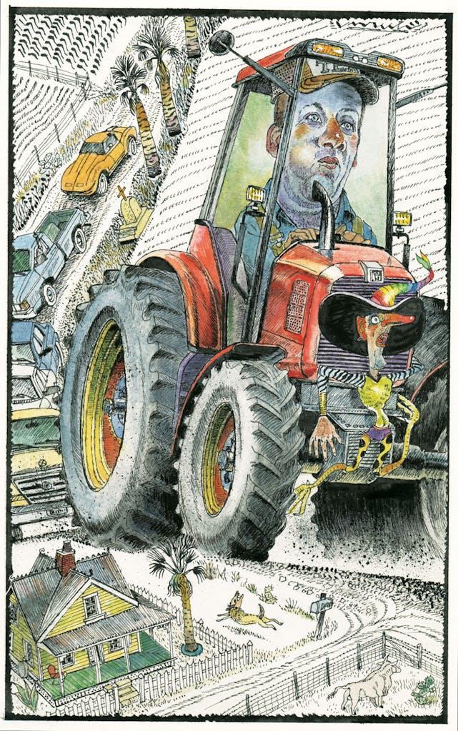 texanist tractor