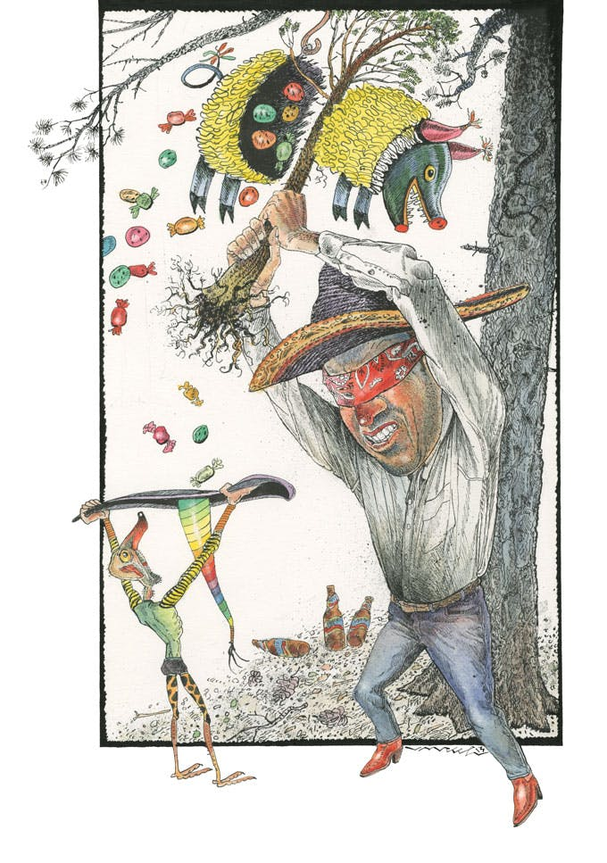 texanist piñata