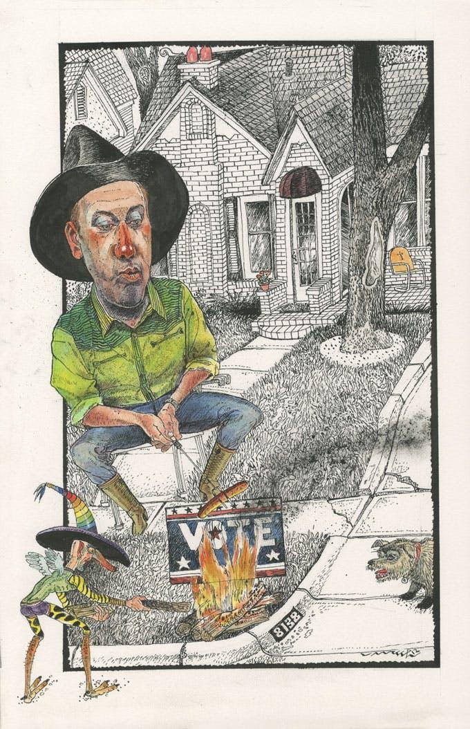 texanist politics