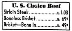 1951 DMN A&P Ad