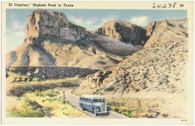 el capitan guadalupe peak west texas travel