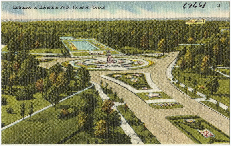 houston hermann park texas travel