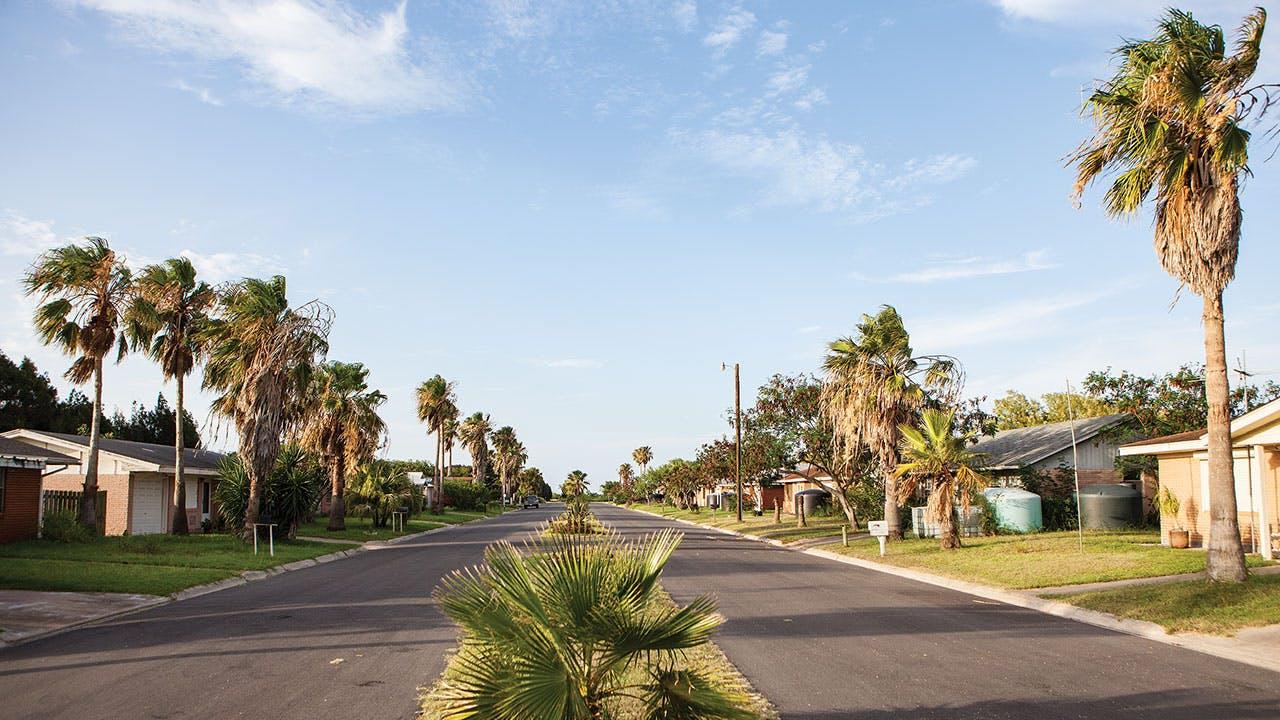 The tiny community of Boca Chica Village.