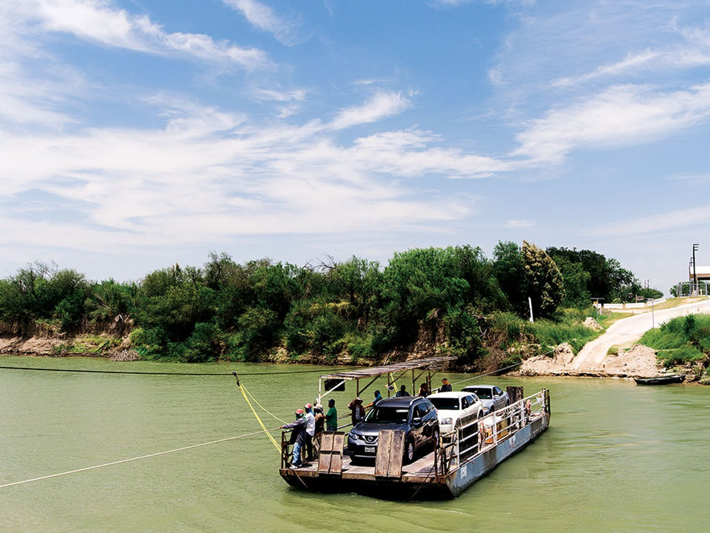 Los Ebanos International Ferry – Texas Monthly