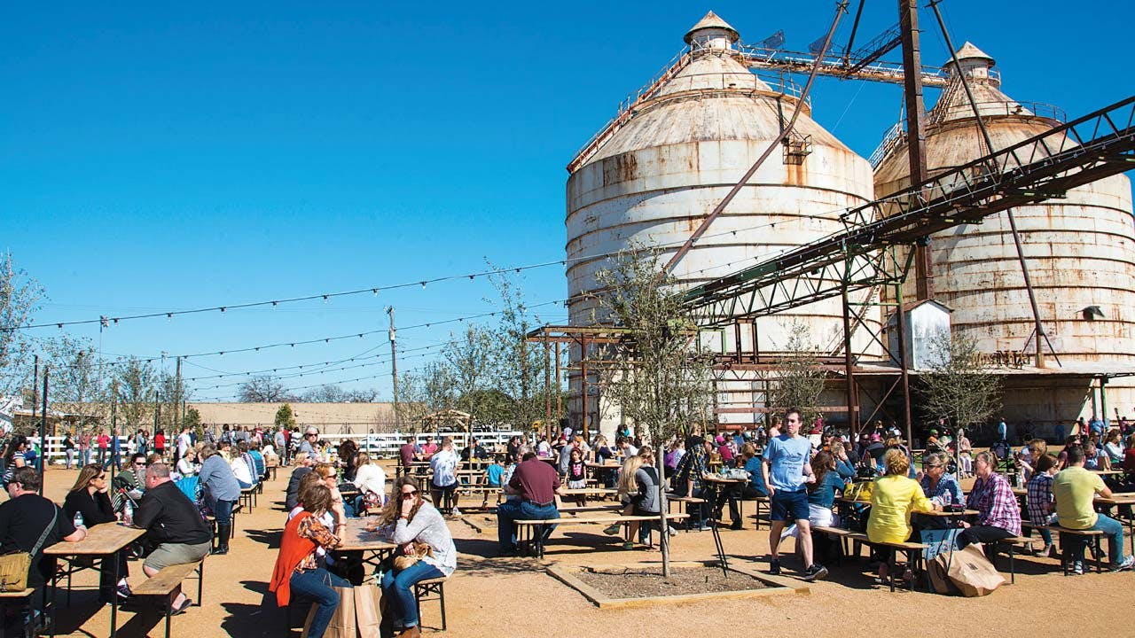 Magnolia Market at the Silos receives up to 35,000 visitors a week.