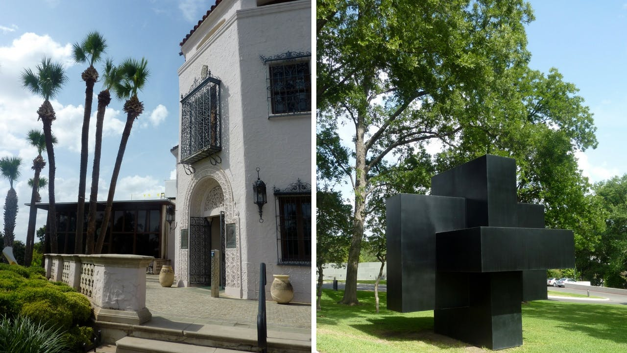 The McNay Art Museum, in San Antonio.