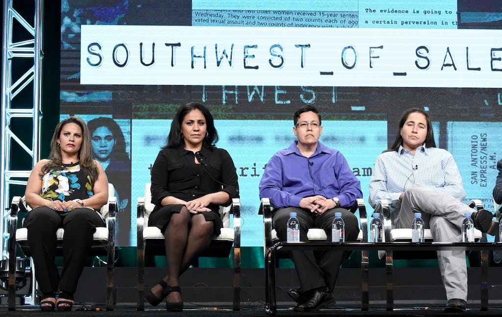 Elizabeth Ramirez, Cassandra Rivera, Kristie Mayhugh, and Anna Vasquez were featured in the documentary 'Southwest of Salem: The Story of the San Antonio Four' about their case. They were officially exonerated November 23, 2016.