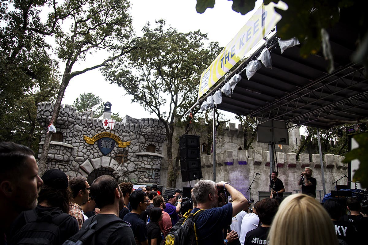 The Keep stage