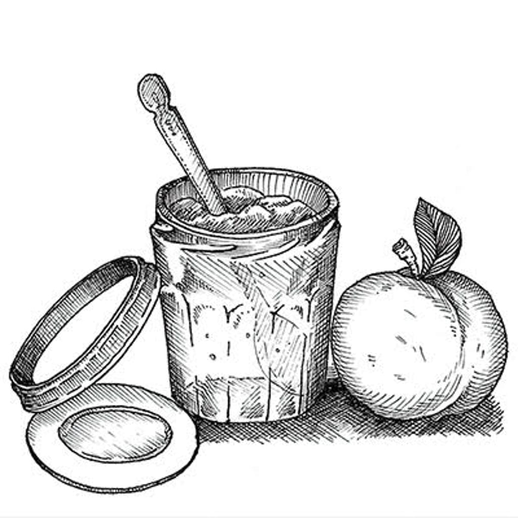 Fig.1 — Preserving This is the umbrella term for cooking a foodstuff (most often fruit) and putting it in a clean container, with a lid, for storage. Cooking kills most but not all the microbes, so homemade preserves need to be refrigerated.