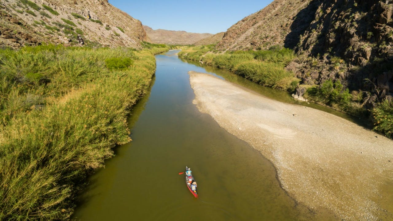 Take a New Year's trip down the Rio Grande with Far Flung Outdoor Center.