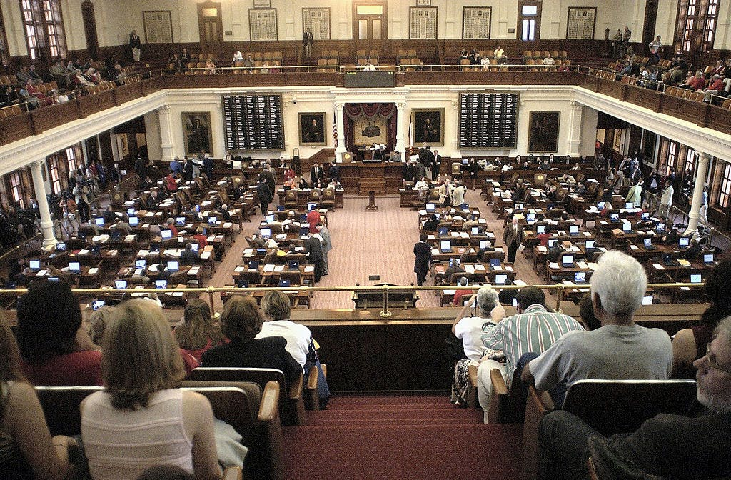 The Texas State Legislature on May 16, 2003 in Austin, Texas.