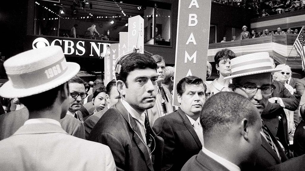 At the 1968 Democratic convention.