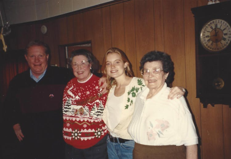 Kelly Willis with her family